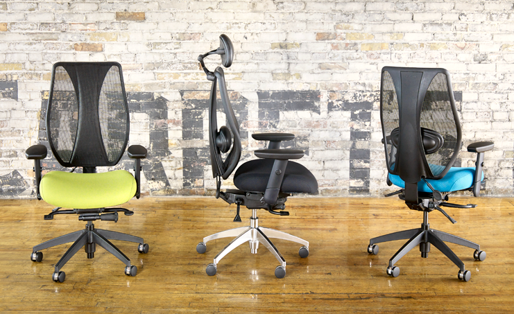 Tcentric Hybrid Ergonomic Office Chair Ergocentric