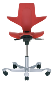 Hag Capisco Puls Red ergoCentric Office Seating