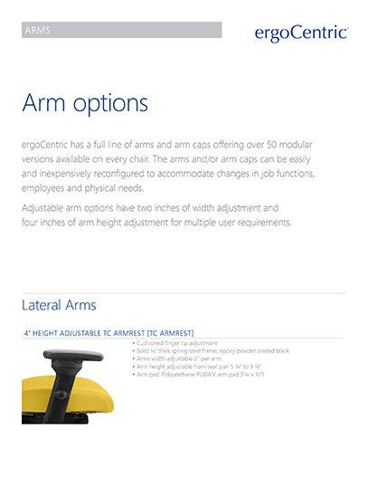 Arm Options Info Sheet