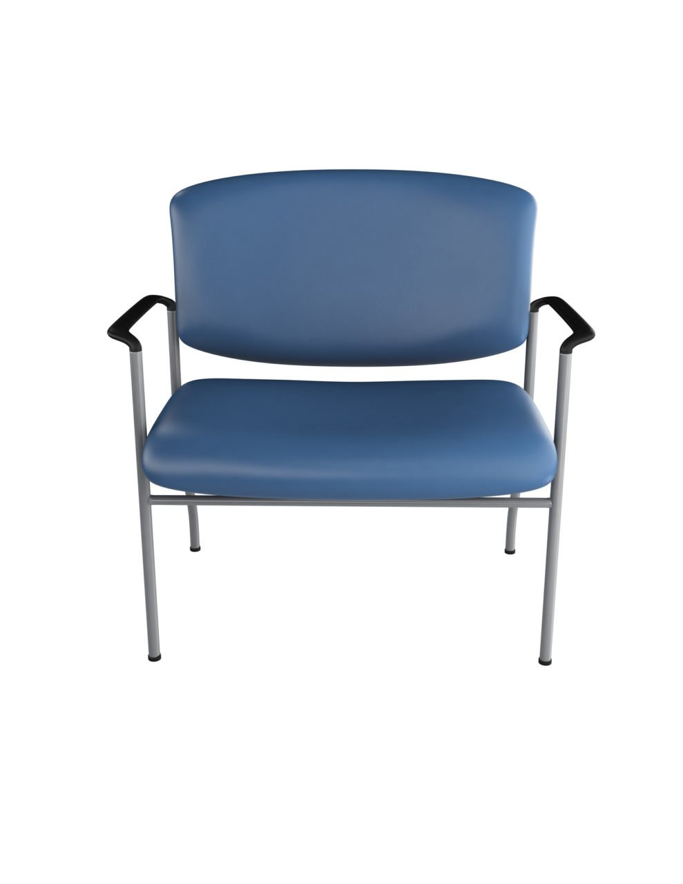... 30  Bariatric Guest Chair with Arms from ergoCentric. Equipped with Chrome Frame and Blue ...  sc 1 st  ergoCentric & Bariatric Guest Chair - ergoCentric
