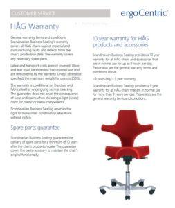 HAG RBM Warranty