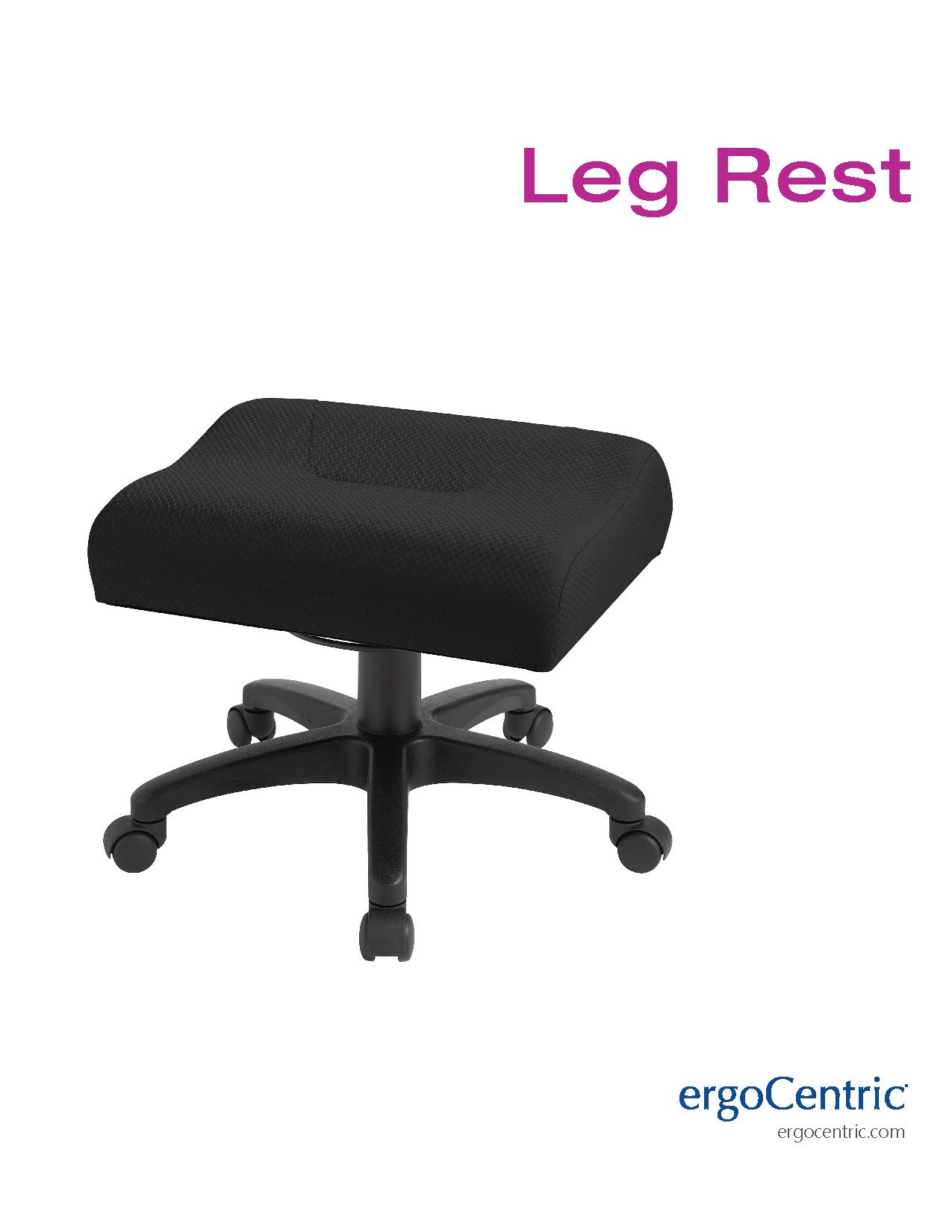 Leg Rest Info Sheet Ergocentric