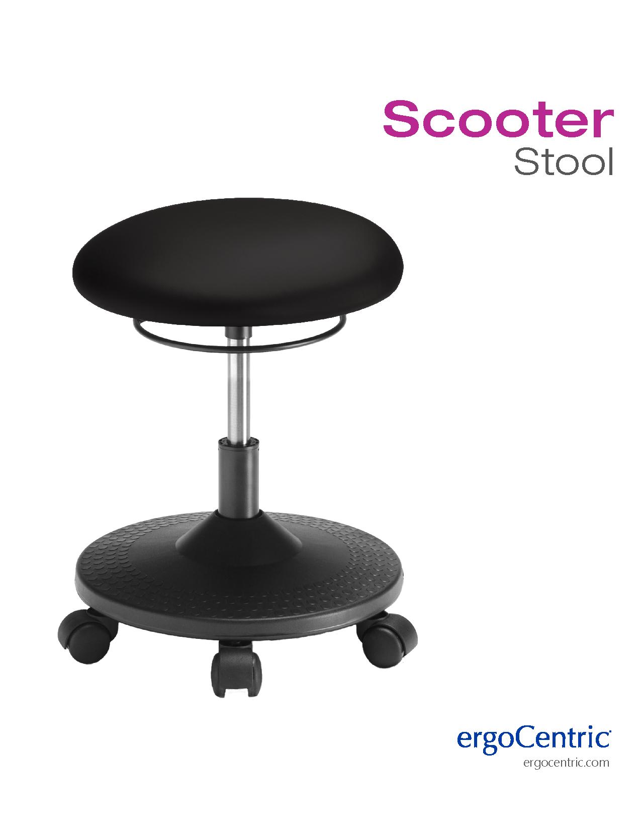Scooter Stool Info Sheet Ergocentric