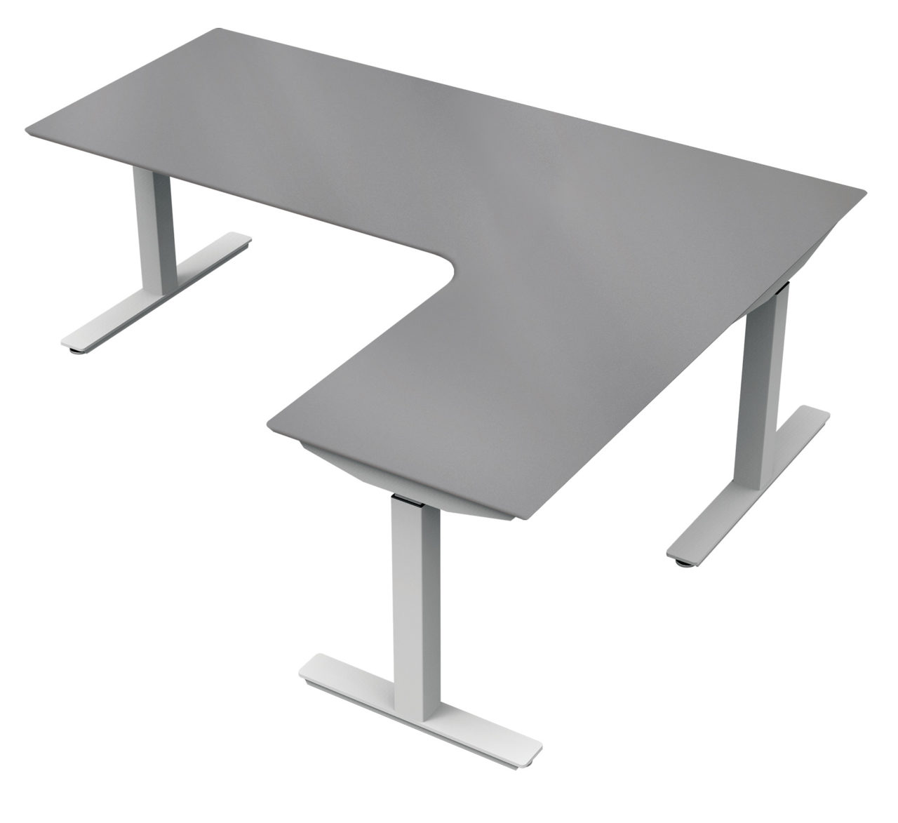 Electric Height Adjustable Tables ErgoCentric - Electrically driven adjustable table legs