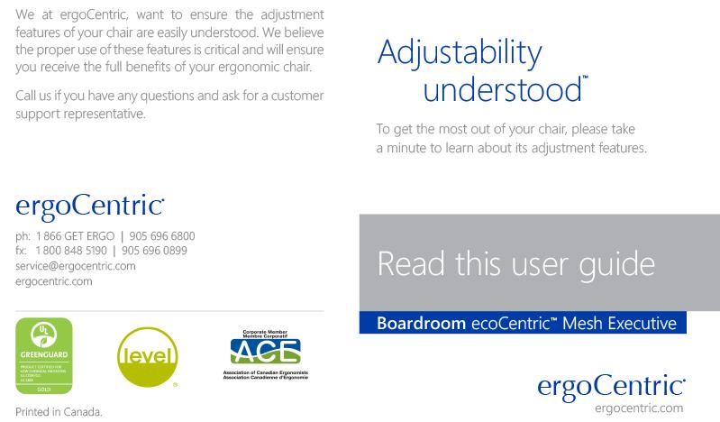 ecoCentric Mesh Exec Boardroom