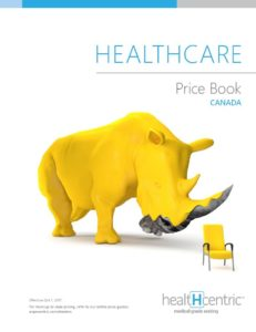 healtHcentric Price Book
