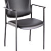 iCentric Stacker with Arms from ergoCentric. Equipped with Black Frame and Black Seat